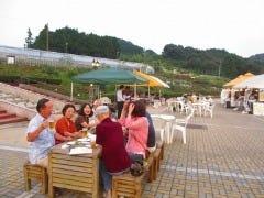 島田市ばらの丘公園ビアガーデン