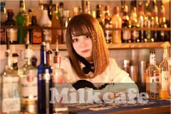 Milk cafe の画像