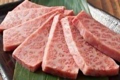 七輪焼肉ふくの牛