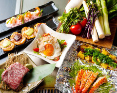 鉄板焼き&焼き野菜 葉なと 北新地店