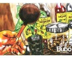 cafe Bubo cioccolata の画像
