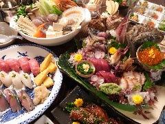 郷土料理津軽三味線りんご箱 の画像
