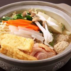 鶏ちゃんこと旬の魚菜・仁遊人