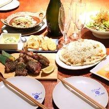 【ぐるなび限定】120分飲み放題付き!たましかできない外食はちょっぴり贅沢に「贅沢コース」全9品¥5,000