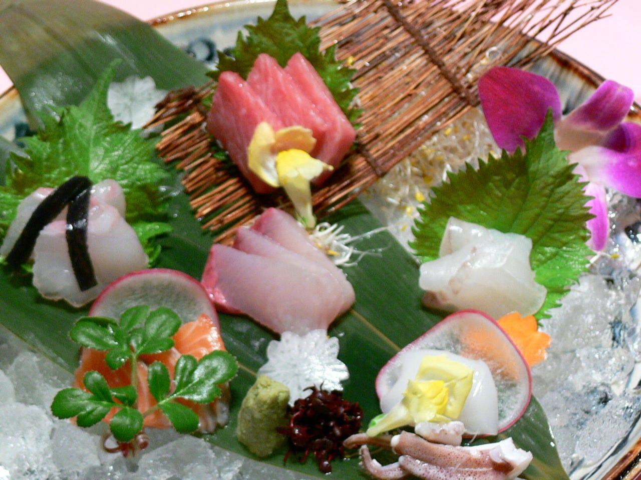 鮮魚のお造り盛合せ