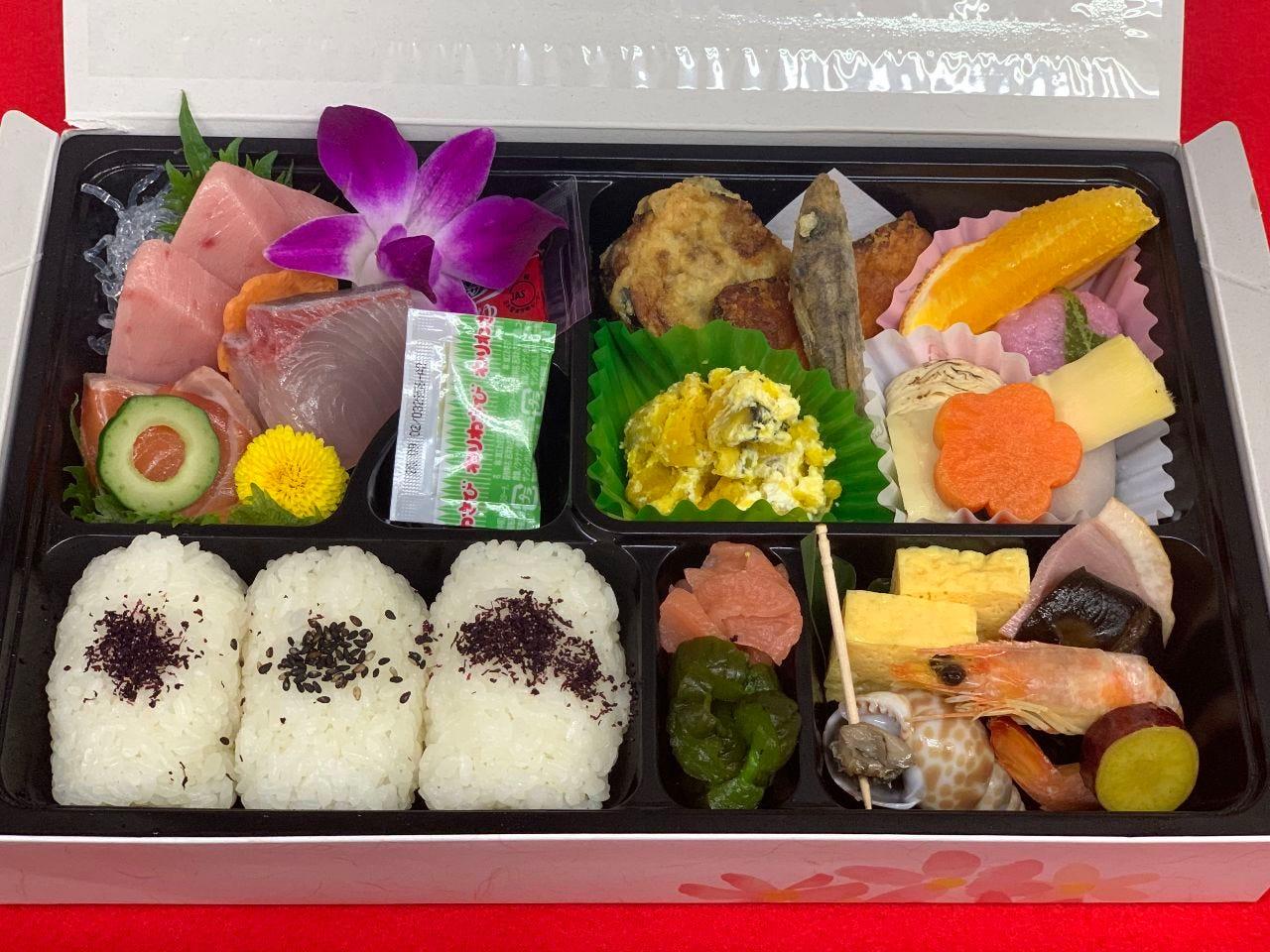 彩りを味わう和食の定番 松花堂弁当!人気です