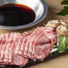 【90分飲み放題付】お肉の旨味と柔らかな食感に舌鼓『飛騨牛すき焼きコース』全6品