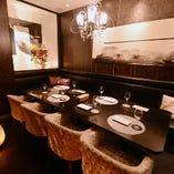 歓送迎会や接待などにご利用できる個室完備。