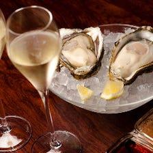 牡蠣&イタリアンで宴会!