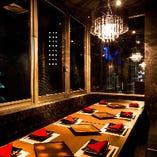 《―個室Dinner―》 プライベート個室空間で優雅なひと時を…♪