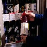 [店内に酒屋が!?] リーズナブルな価格で希少酒が楽しめます♪