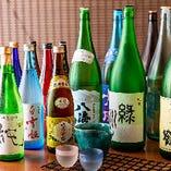 【3】飲み放題がスゴい★ 厳選おもてなしコースは本格焼酎10種、新潟銘酒10種入にグレードアップも可能!