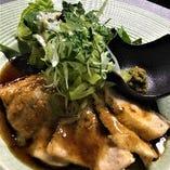 大山地鶏和風ステーキ