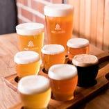 【クラフトビール】 当店でしか味わえないクラフトビールも◎