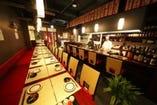 【ごゆっくり】各種宴会も大歓迎!のんびりできるテーブル席