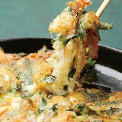 モッツアレラチーズのチヂミ