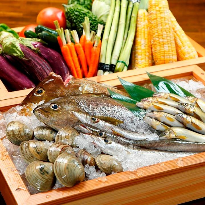 日本全国こだわり生産者から 直送した新鮮食材を堪能ください♪