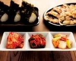 自慢のキムチからチヂミや桜ユッケなど 韓国料理も豊富にご用意