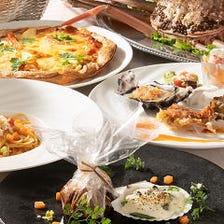 【秋宴会/歓迎会】2h飲み放題付 前菜・パスタやローストビーフ食べ放題を愉しむ『クレッシェント』