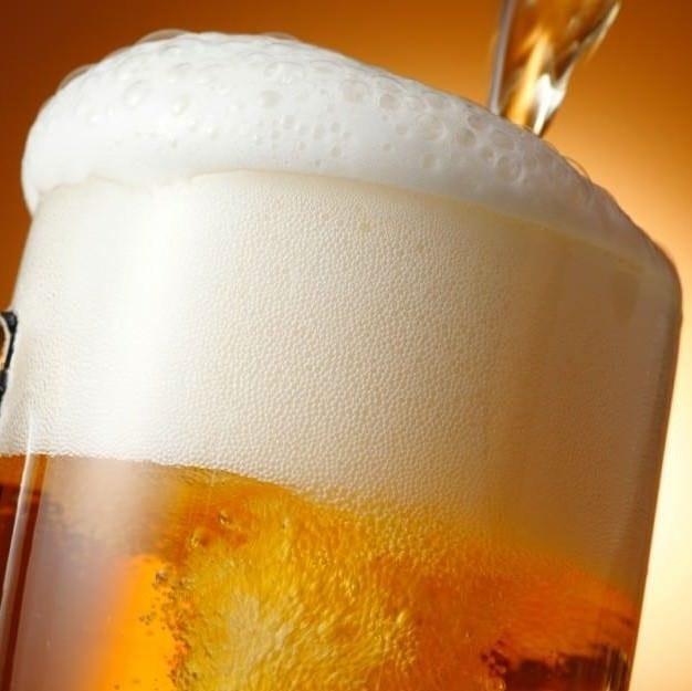 生ビールは199円と安く楽しめます。
