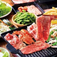 お肉の他に食べ放題メニューが充実!