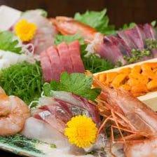 富山県の漁港直送新鮮魚介たち