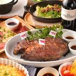 熟成和牛の香り・旨みを堪能出来るコースを 5,000円~ご用意