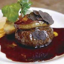 [ランチ限定]熟成肉100%ハンバーグ