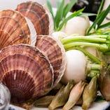 新鮮で旬の海鮮や野菜がオススメメニューとして毎日変わります!