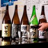 「獺祭」など全国各地の銘酒がずらり!ごだわり日本酒【山口県】