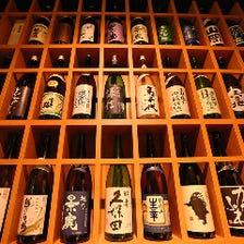 【新潟の地酒常時40種】季節酒も続々入荷しております。