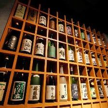 新潟地酒30種類以上ご用意