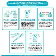 当店の5つの感染予防対策
