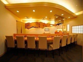 天ぷら ふく西 禅と匠  店内の画像