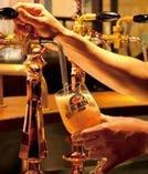 ドイツ伝来の3回注ぎのご馳走ビール