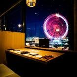 【記念日・誕生日・デート】におすすめシート♪…No.1【窓側カップルシート】全11席
