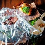 【おすすめ】柔らか牛ショートリブのスモークステーキ