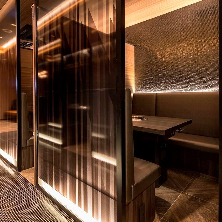 【上質空間】洗練されたスタイリッシュ個室
