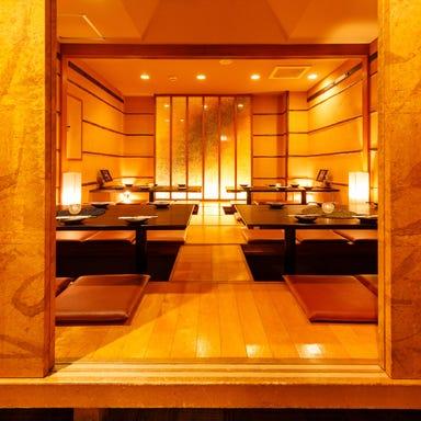 大山鶏と海鮮が旨い個室居酒屋 一兆 新宿西口店 店内の画像