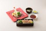 【セット】天ぷらステーキ重&天ぷらセット
