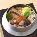 季節の味わい豊かな釜炊きご飯【山形「はえぬき米」を使用】