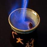 火を入れると日本酒にまろみが出ます