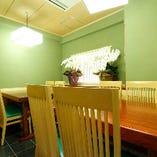 テーブル席個室(10~15名様)