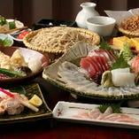 旬が存分に味わえる!夏の旬食材満喫コース〈全10品〉