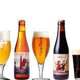 自社製造の初陣をはじめとした38種のクラフトビール♪