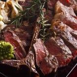 門崎熟成肉とイベリコ豚Tボーングリルコース 6,500円(税込)