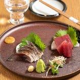 【お造り】神戸/福岡より天然魚を直送