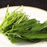 【薬膳鍋単品】空心菜