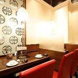 カウンター席(~2名様用が2席)デートやご夫婦でのお食事などに最適!