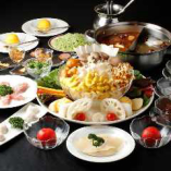 国産鶏もも肉やフカヒレを具材に!秘伝のスープで体も喜ぶ♪[モンゴルの太陽コース]〈全11品〉